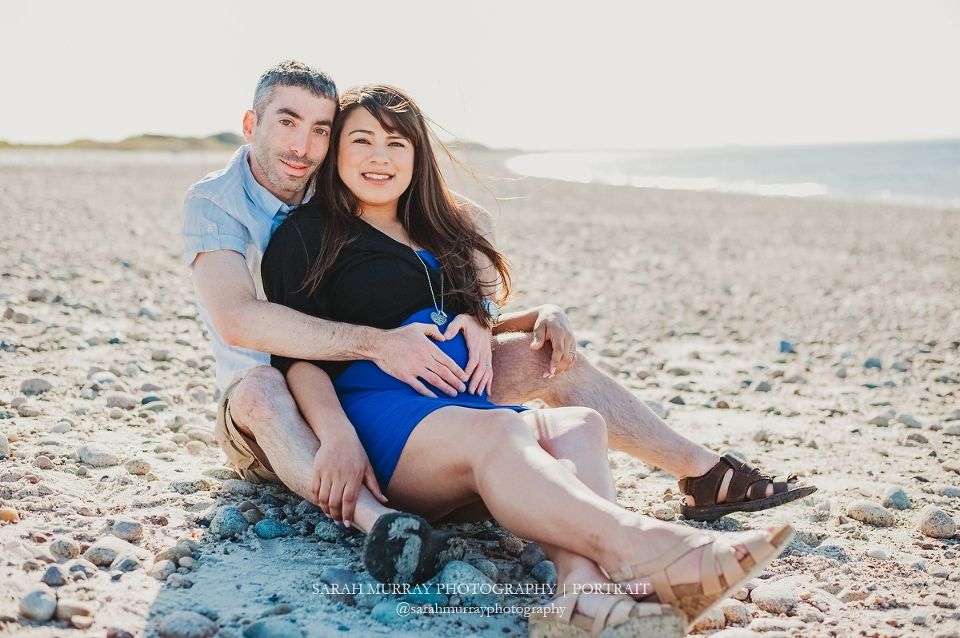 Sandy Neck Beach Maternity Photo Session on Cape Cod in Sandwich, Massachusetts - Sarah Murray Photography