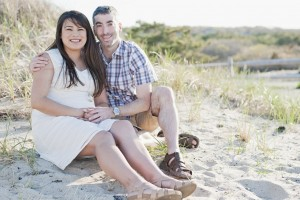 Sandy Neck Beach Baby Bump Session - Sarah Murray Photography