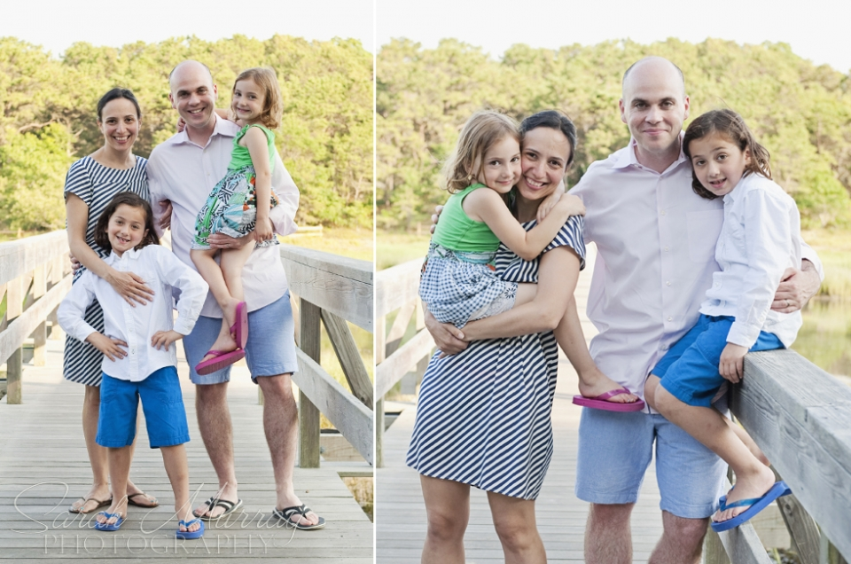 Uncle Tims Bridge Welfleet Cape Cod Family Photo Session - Sarah Murray Photography