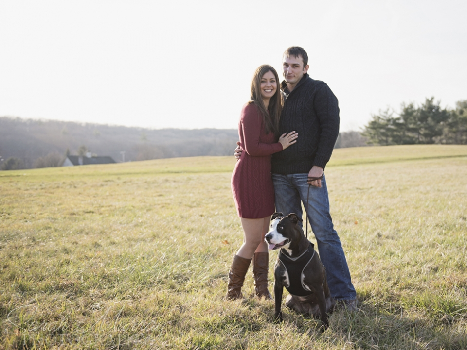 Engagement Session at Chase Farm in Lincoln, Rhode Island - Sarah Murray Photography