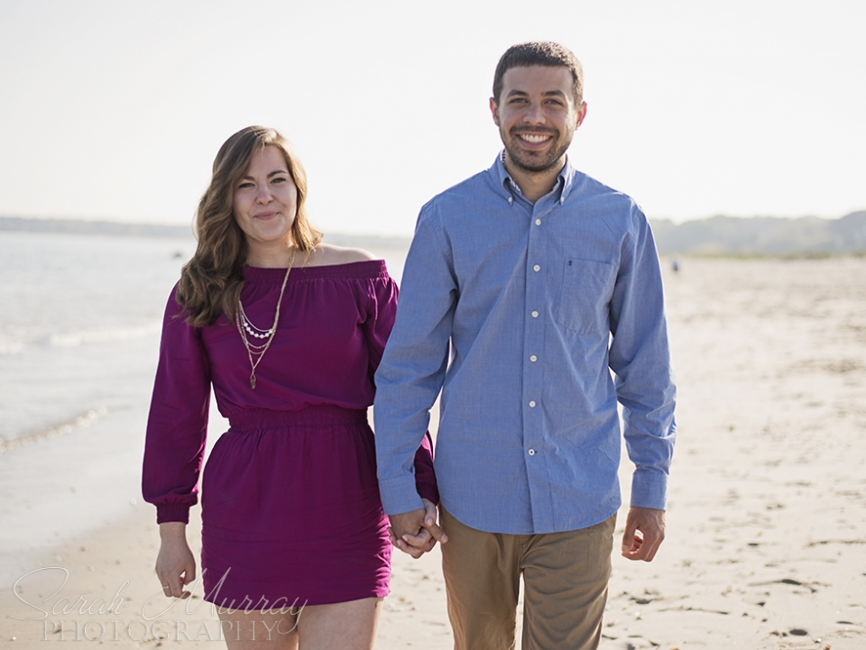 Long Beach Cape Cod Engagement Session on Cape Cod, Massachusetts - Sarah Murray Photography
