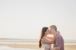 Provincetown Tidal Flats Engagement Session on Cape Cod, Massachusetts - Sarah Murray Photography