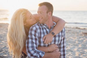 Cape Cod Surprise Proposal Engagement Session on Sesuit Harbor Beach in West Dennis, Massachusetts - Sarah Murray Photography