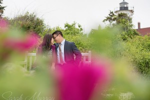 Nobska Lighthouse Beach Cape Cod Engagement Session in Falmouth, Massachusetts - Sarah Murray Photography