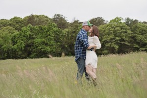 Bourne Farm Cape Cod Engagement Session in West Falmouth, Massachusetts - Sarah Murray Photography