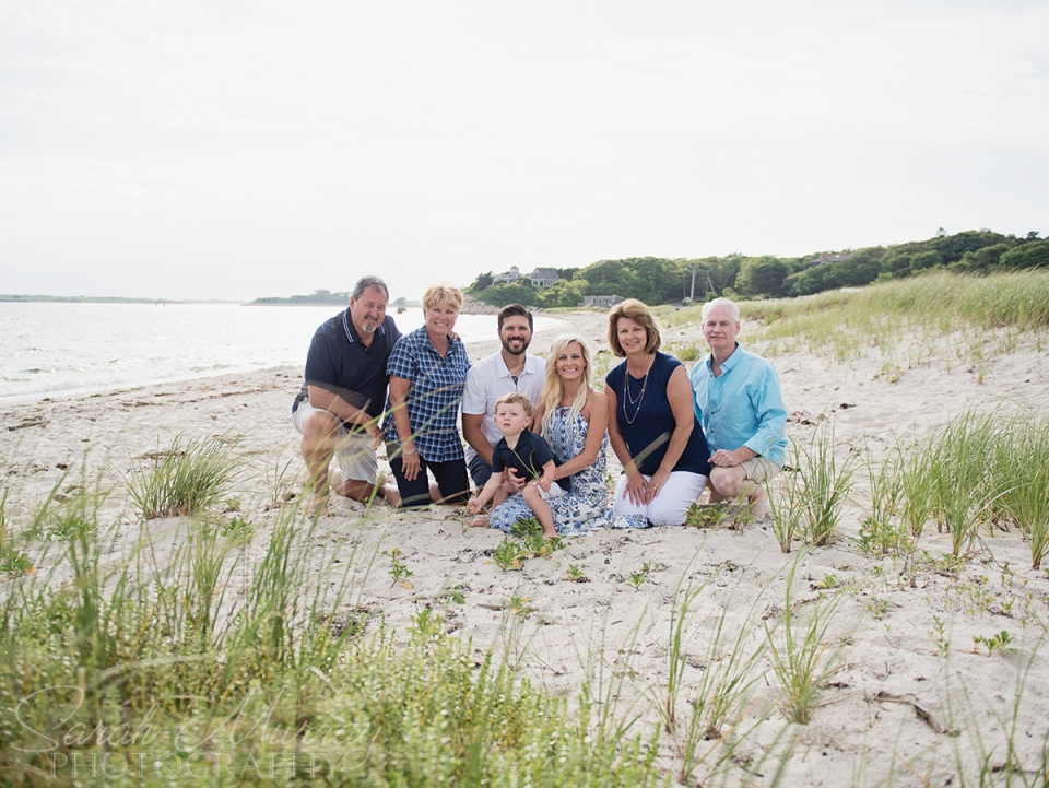 Nobska Lighthouse Beach Cape Cod Family Photo Session in Falmouth, Massachusetts - Sarah Murray Photography