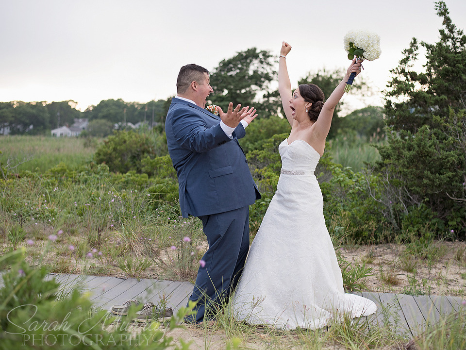 Keyes Memorial Beach Wedding on Cape Cod in Hyannis, Massachusetts - Sarah Murray Photography