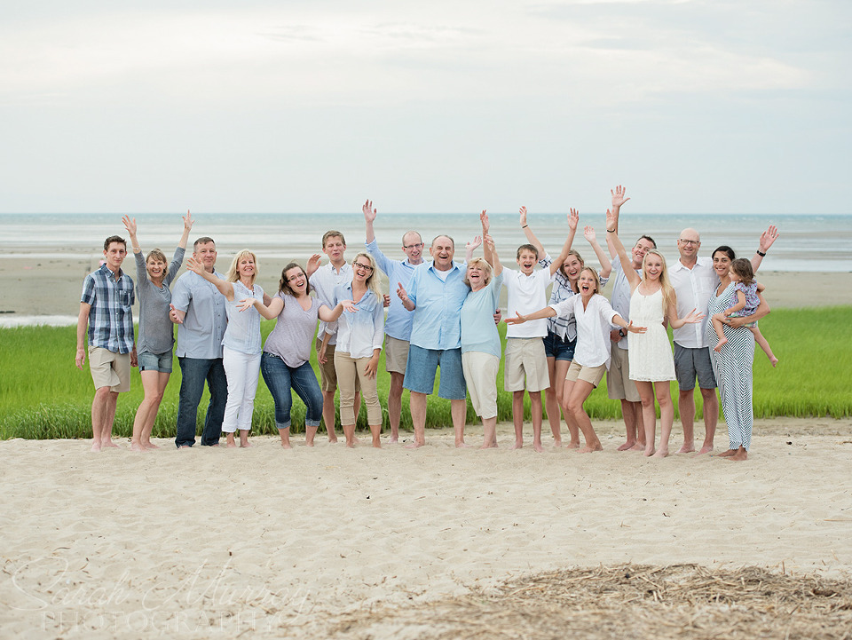 Family Beach Photo Session at First Encounter Beach in Eastham, Cape Cod, Massachusetts - Sarah Murray Photography