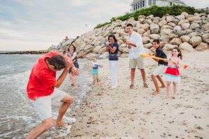 Cape Cod Family Photo Beach Session at the Popponessett in Mashppe, Massachusetts - Sarah Murray Photography
