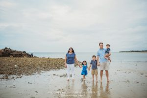 Corporation Beach Family Photo Session on Cape Cod in Dennis, Massachusetts - Sarah Murray Photography