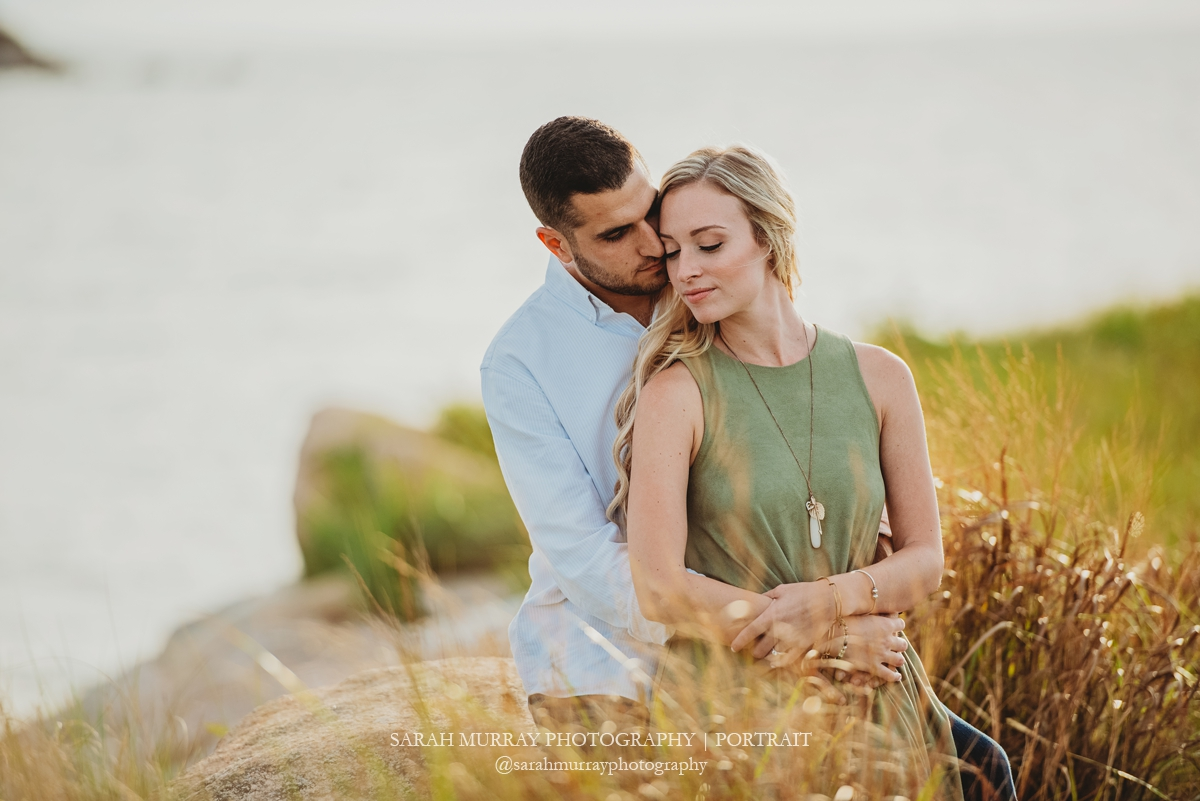The Knob Engagement Photo Session in Woods Hole, Cape Cod, Massachusetts - Sarah Murray Photography