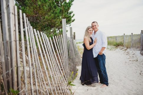 Seagull Beach Engagment Photo Session on Cape Cod in Yarmouth, Massachusetts - Sarah Murray Photography