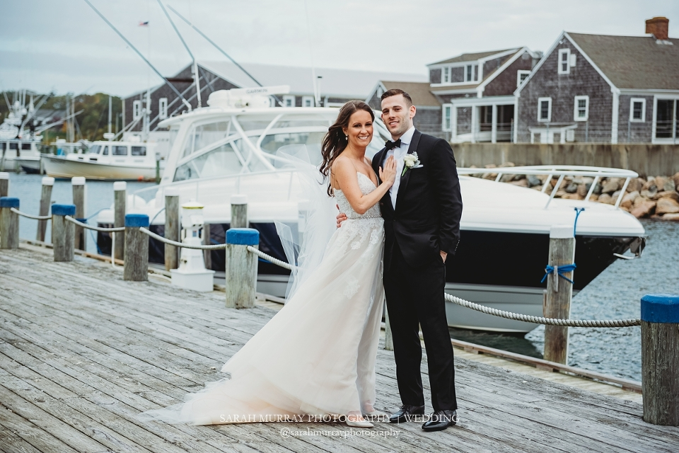 Wychmere Beach Club Wedding on Cape Cod in Harwich Port, Massachusetts - Sarah Murray Photography