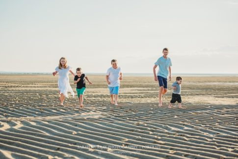 First Encounter Family Photo Beach Session in Eastham, Massachusetts - Sarah Murray Photography