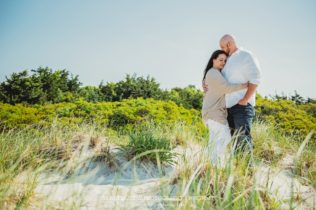 Cape Cod Beach Engagement in Centerville, Massachusetts - Sarah Murray Photography