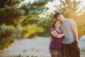 Shaws Cove Beach Engagement Photo Session in Fairhaven, Massachusetts - Sarah Murray Photography