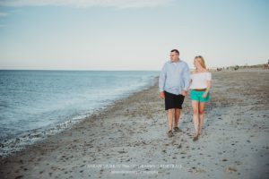 Sandy Neck Beach Engagement Photo Session on Cape Cod in Sandwich Massachusetts Sarah Murray Photography