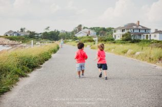 Private Beach Cape Cod Family Photo Session on Cape Cod in Falmouth Massachusetts Sarah Murray Photography