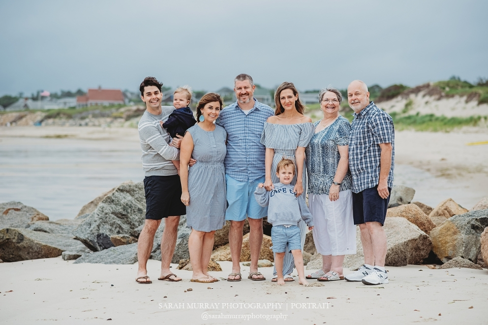 Corporation Beach Family Photo Session on Cape Cod in Dennis Massachusetts Sarah Murray Photography