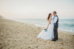 Nauset Light Beach Engagement Session on Cape Cod in Eastham Massachusetts Sarah Murray Photography