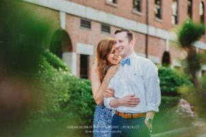 Boston City Engagement Photo Session in Massachusetts - Sarah Murray Photography