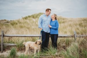 Crosby Landing Beach Engagement Photo Session on Cape Cod in Brewster Massachusetts Sarah Murray Photography