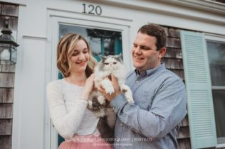 Nauset Heights Beach Engagement Photo Session on Cape Cod in East Orleans Massachusetts Sarah Murray Photography