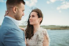 Menauhant Beach Engagement Session on Cape Cod in Falmouth Massachusetts - Sarah Murray Photography